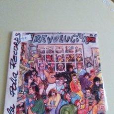 Discos de vinilo: VINILO ORIGINAL. LA POLLA RECORDS. REVOLUCION.1ª EDICION SOÑUA. S - 139 .1985. PUNK VASCO CON ENCAR. Lote 98069415