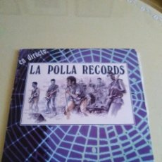 Discos de vinilo: VINILO ORIGINAL. LA POLLA RECORDS.EN DIRECTO. OIHUKA, 0 - 175. 1º EDICION. . 1988 PUNK VASCO.. Lote 98071111