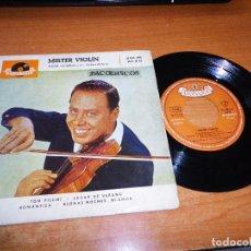 Discos de vinilo: HELMUT ZACHARIAS Y SUS VIOLINES MAGICOS MISTER VIOLIN EP VINILO 1960 TOM PILLIBI LUGAR DE VERANO. Lote 98071691