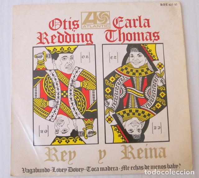 OTIS REDDING & CARLA THOMAS - VAGABUNDO + 3 TEMAS ATLANTIC - 1967 (Música - Discos de Vinilo - EPs - Funk, Soul y Black Music)