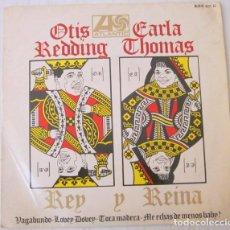 Discos de vinilo: OTIS REDDING & CARLA THOMAS - VAGABUNDO + 3 TEMAS ATLANTIC - 1967. Lote 98071891