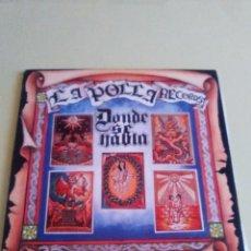 Discos de vinilo: VINILO ORIGINAL. LA POLLA RECORDS. DONDE SE HABLA. 1ª EDICION. OIHUKA. 0 - 165. PUNK VASCO. Lote 98072527