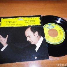 Discos de vinilo: ORQUESTA SINFONICA RIAS DE BERLIN GIUSEPPE VERDI LA TRAVIATA EP VINILO 1962 ESPAÑA. Lote 98073435