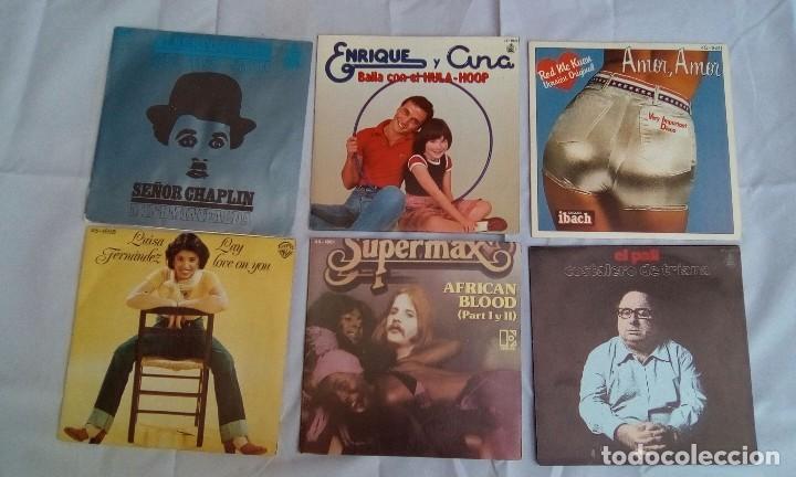 Discos de vinilo: LOTE DE 6 SINGLES VARIADOS - Foto 2 - 98074447