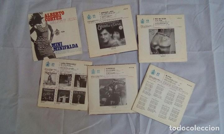 Discos de vinilo: LOTE DE 6 SINGLES VARIADOS - Foto 3 - 98074447