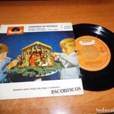 Discos de vinilo: ORQUESTA SANTA CLAUS CON CORO Y CAMPANAS NOCHE DE PAZ VILLANCICOS EP VINILO 1959 4 TEMAS. Lote 98074663