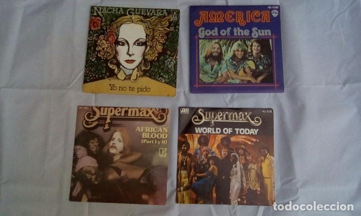 Discos de vinilo: LOTE DE 4 SINGLES SIN USAR - Foto 2 - 98075103