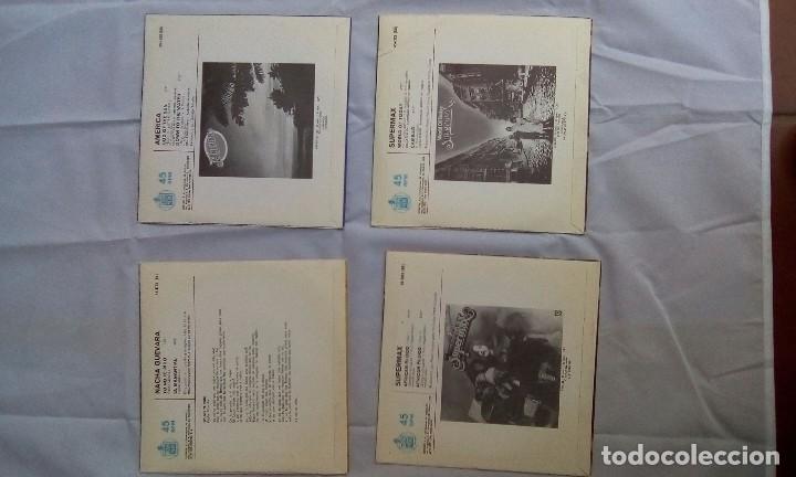 Discos de vinilo: LOTE DE 4 SINGLES SIN USAR - Foto 3 - 98075103