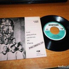 Discos de vinilo: LOS PEQUEÑOS CANTORES DE VIENA O TANNENBAUM VILLANCICOS ALEMANES EP VINILO 1961 ESPAÑA VERGARA. Lote 98076239