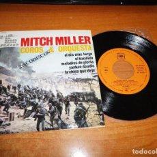Discos de vinilo: MITCH MILLER COROS & ORQUESTA EL DIA MAS LARGO BANDA SONORA EP VINILO 1962 ESPAÑA 4 TEMAS PAUL ANKA. Lote 98076963