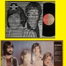 Discos de vinilo: THE SHADOWS - ROCKIN' WITH CURLY LEADS 73, HANK MARVIN, RARA 1ª EDIC ORG UK, DOBLE CARPETA, IMPECABL. Lote 98078095