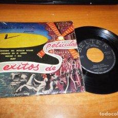 Discos de vinilo: ORQUESTA DE JIMMY CARROLL ORQUESTA DE TOMMY DORSEY 4 EXITOS DE PELICULAS EP VINILO ESPAÑA BELTER. Lote 98079675
