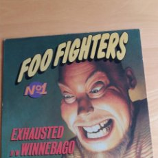 Discos de vinilo: MX ** FOO FIGHTERS ** EXHAUTED ** COVER / EXCELLENT (EX) MX / EXCELLENT (EX) 1995. Lote 98079691