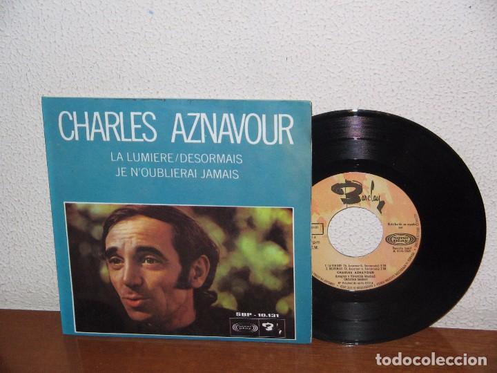 CHARLES AZNAVOUR 7´´ MEGA RARE VINTAGE EXTENDED PLAY SPAIN 1969 (Música - Discos de Vinilo - EPs - Canción Francesa e Italiana)