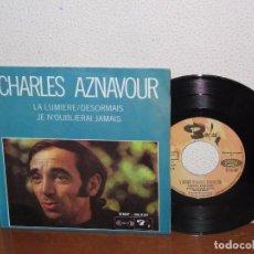 Discos de vinilo: CHARLES AZNAVOUR 7´´ MEGA RARE VINTAGE EXTENDED PLAY SPAIN 1969. Lote 98079807