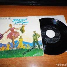 Discos de vinilo: SONRISAS Y LAGRIMAS BANDA SONORA EN ESPAÑOL EP VINILO DEL AÑO 1966 ESPAÑA 4 TEMAS RCA RARO. Lote 98080311