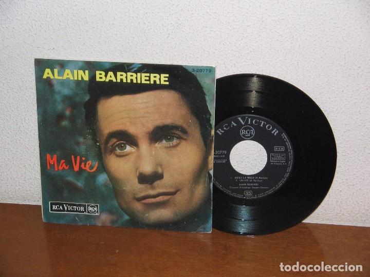 ALAIN BARRIERE 7´´ MEGA RARE VINTAGE SPAIN 1964 (Música - Discos de Vinilo - EPs - Canción Francesa e Italiana)