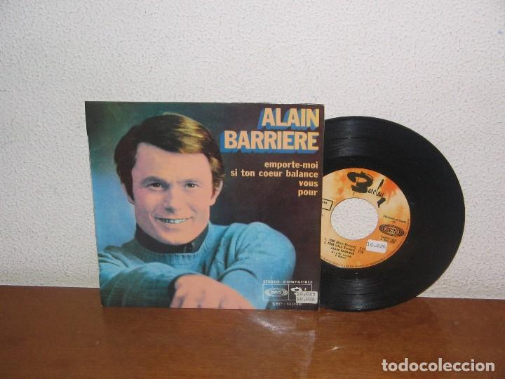 ALAIN BARRIERE 7´´ MEGA RARE VINTAGE EXTENDED PLAY SPAIN 1968 (Música - Discos de Vinilo - EPs - Canción Francesa e Italiana)