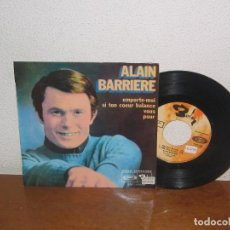 Discos de vinilo: ALAIN BARRIERE 7´´ MEGA RARE VINTAGE EXTENDED PLAY SPAIN 1968. Lote 98080471