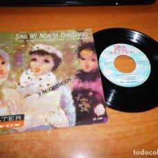 Discos de vinilo: HARRY SIMONE SING WE NOW OF CHRISTMAS EP VINILO DEL AÑO 1961 ESPAÑA CONTIENE 4 TEMAS VILLANCICOS. Lote 98081995