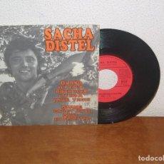 Discos de vinilo: SACHA DISTEL 7´´ MEGA RARE VINTAGE FRANCE 1970. Lote 98083623
