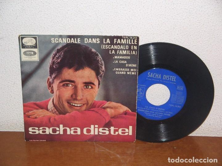 SACHA DISTEL 7´´ MEGA RARE VINTAGE SPANISH TITLES 1965 (Música - Discos de Vinilo - EPs - Canción Francesa e Italiana)