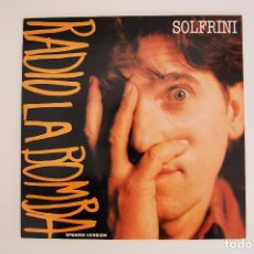 Discos de vinilo: VINILO -RADIO LA BOMBA - SOLFRINI - MAXI - VIRGIN 1988. Lote 98084231