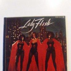 Discos de vinilo: LADY FLASH BEAUTIES IN THE NIGHT ( 1976 POLYDOR ESPAÑA ) BARRY MANILOW RON DANTE. Lote 98088439