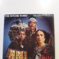 Discos de vinilo: THE RITCHIE FAMILY ARABIAN NIGHTS ( 1976 MARLIN USA ) DISCO MUSIC MUY BUEN ESTADO. Lote 98088747