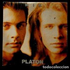 Disques de vinyle: PLATON (SINGLE 1992) MÍA - DISCO PROMOCIONAL CON UNA SOLA CANCION. Lote 98092011