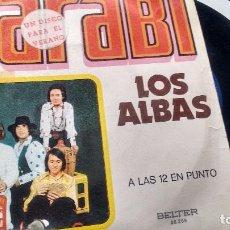 Discos de vinilo: SINGLE (VINILO) DE LOS ALBAS AÑOS 70. Lote 98100059