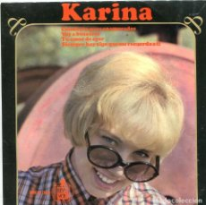 Discos de vinilo: KARINA / CONCIERTO PARA ENAMORADOS + 3 (EP 1966). Lote 98115155