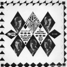 Disques de vinyle: MUSTANG, LOS, EP, LA LA LA + 3, AÑO 1966. Lote 98117107