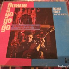 Discos de vinilo: LP- DUANE EDDY DUANE A GO GO GO COLPIX 046 HOLANDA 1965. Lote 98117819