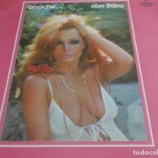 Discos de vinilo: SARA MONTIEL-ANOCHE CON SARA-ARREGLOS RAFAEL FERRO. Lote 98121219