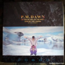 Discos de vinilo: P.M. DAWN – OF THE HEART, OF THE SOUL AND OF THE CROSS: THE UTOPIAN EXPERIENCE LP 1991 CARPETA DOBLE. Lote 98129003