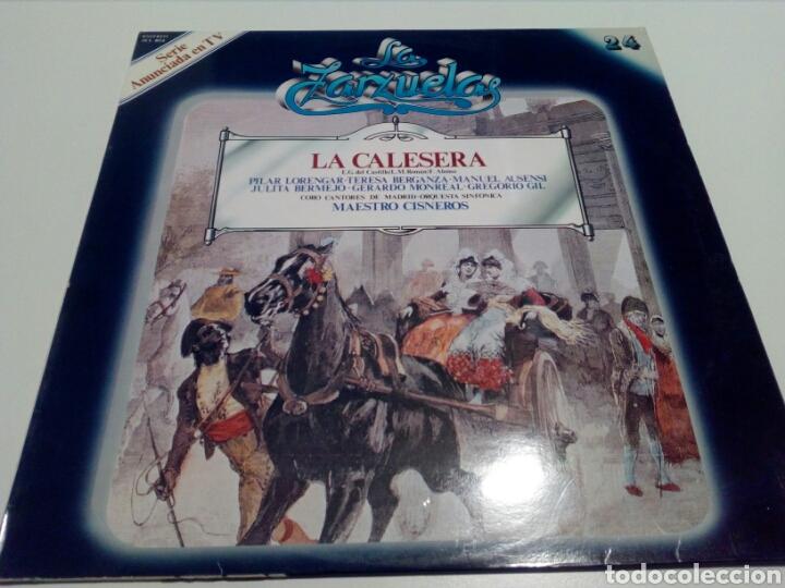 LA ZARZUELA. LA CALESERA. N° 24. (Música - Discos - LP Vinilo - Clásica, Ópera, Zarzuela y Marchas)