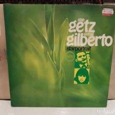 Discos de vinilo: LP STAN GETZ ASTRUD GILBERTO STARPORTRAIT BUEN ESTADO . Lote 98135715