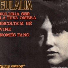 Discos de vinilo: EULALIA, EP, VOLDRIA SER LA TEVA OMBRA + 3, AÑO 1964. Lote 98147139