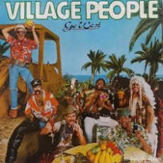 Discos de vinilo: VILLAGE PEOPLE. GO WEST. LP USA. Lote 98148183