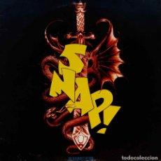 Discos de vinilo: SNAP !. THE MADMAN´S RETURN. LP ESPAÑA CON FUNDA INTERIOR CON FOTOGRAFIAS.. Lote 98148475