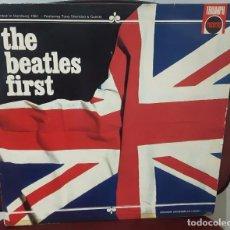 Discos de vinilo: BEATLES - THE BEATLES FIRST -LP - FRANCIA - ORIGINAL- TONY SHERIDAN- PAUL MCCARTNEY- JOHN LENNON. Lote 98148891