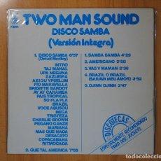 Discos de vinilo: TWO MAN SOUND - DISCO SAMBA - LP. Lote 98150402
