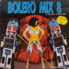 Discos de vinilo: BOLERO MIX 8. QUIQUE TEJADA MIX. DOBLE LP ESPAÑA. Lote 98155107