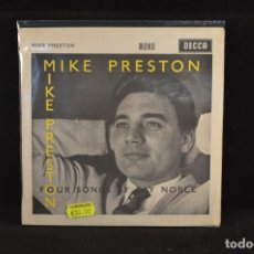 Discos de vinilo: MIKE PRESTON - LOVE IS THE SWEETEST THING +3 - EP. Lote 98156263