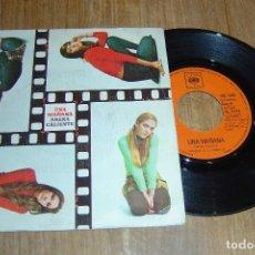 Discos de vinilo: DISCO VINILO SINGLE ARENA CALIENTE - UNA MAÑANA - . Lote 98159523