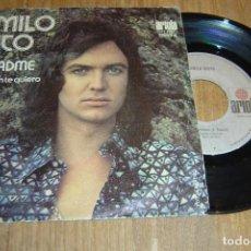 Discos de vinilo: DISCO VINILO SINGLE CAMILO SESTO - AYUDADME - . Lote 98159615