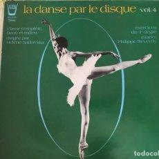 Discos de vinilo: LP LA DANSE PAR LE DISQUE VOL.4. Lote 98160175