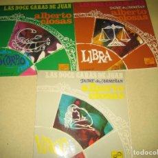 Discos de vinilo: ALBERTO CLOSAS - LOTE DE 3 SINGLES. Lote 98165187