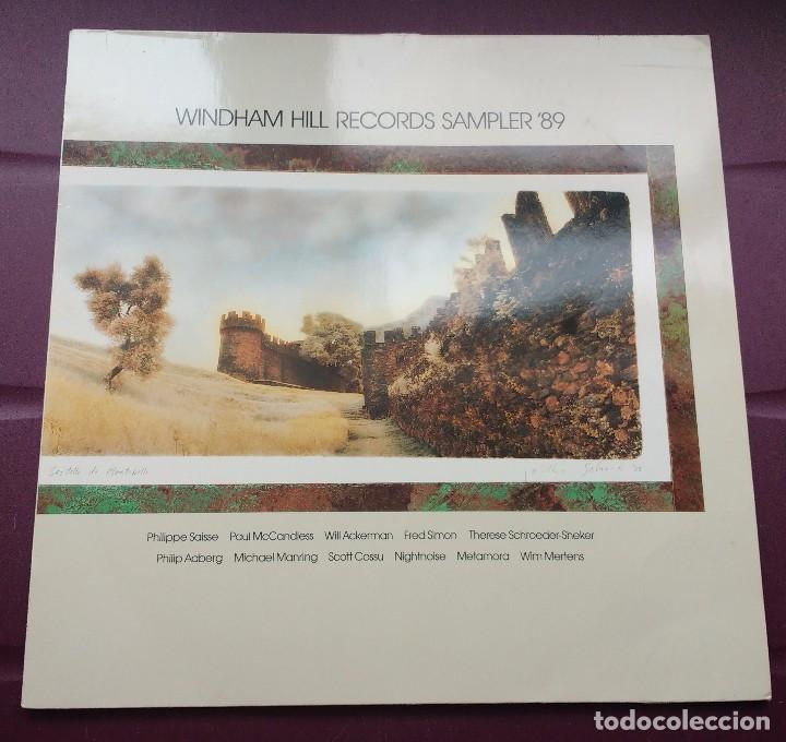 WINDHAM HILL RECORDS SAMPLER 89-PHILIPPE SAISSE + PAUL MCCANDLESS + WILL ACKERMAN + FRED SIMON (Música - Discos - LP Vinilo - Jazz, Jazz-Rock, Blues y R&B)
